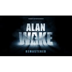 Alan Wake Remastered EPIC...