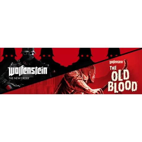 WOLFENSTEIN II 2 THE NEW COLOSSUS + THE NEW ORDER WSZYSTKIE DLC STEAM PC DOSTĘP DO KONTA WSPÓŁDZIELONEGO - OFFLINE