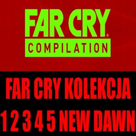 FAR CRY 1 2 3 BLOOD DRAGON 4 PRIMAL 5 NEW DAWN