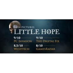 The Dark Pictures Anthology: Little Hope WSZYSTKIE DLC STEAM PC DOSTĘP DO KONTA WSPÓŁDZIELONEGO - OFFLINE
