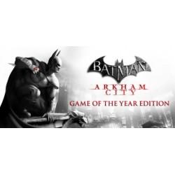 Batman: Arkham City - Game of the Year Edition WSZYSTKIE DLC STEAM PC DOSTĘP DO KONTA WSPÓŁDZIELONEGO - OFFLINE