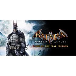 Batman: Arkham Asylum Game of the Year Edition WSZYSTKIE DLC STEAM PC DOSTĘP DO KONTA WSPÓŁDZIELONEGO - OFFLINE